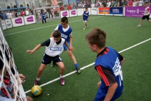 Bosnia and Herzegovina's Football Association helps Development of Football Infrastructure for Youth