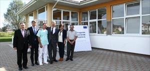 "Ambassador Sorensen opened the rehabilitated ""Šamac"" Primary School in Šamac"