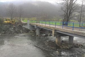 EU Fonds: Reconstruction of the Uzinska Bridge in Teslić Municipality