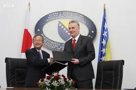 The Government of Japan donated Funds for the Purchase of Hybrid Vehicles