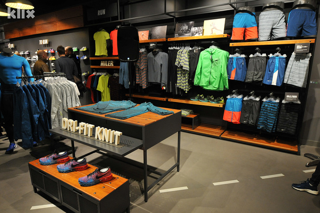 "df6c11f2076b8 The Most Modern ""Nike"" Shop in BiH Opened in Sarajevo - Sarajevo Times"