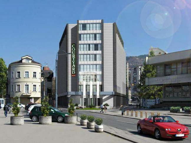 Hotel Courtyard By Marriott In Sarajevo To Be Opened In