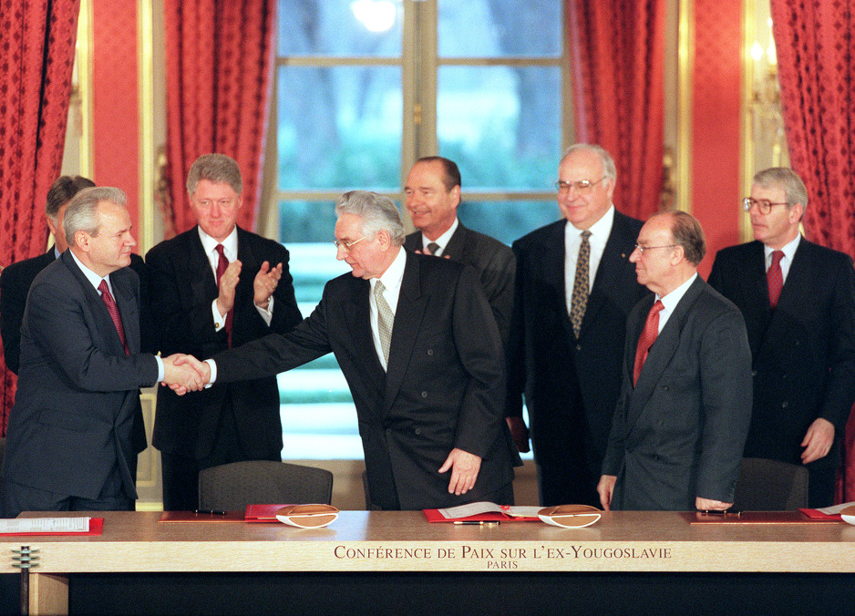 The Dayton Peace Agreement Was Officially Confirmed 22 Years Ago In