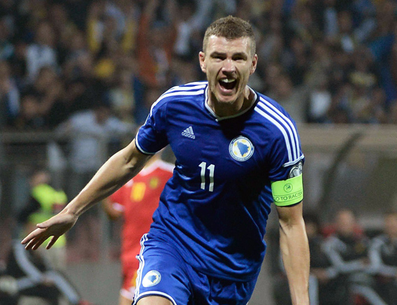 Fulfilled The Promise: Dzeko Sent A Speacial Message To Deaf-Mute People After A Goal (Video