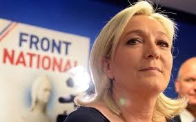 Le Pen lead first round of French presidential election
