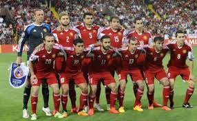 Armenia names Squad for upcoming Football Match with Bosnia and Herzegovina