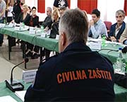 Session of Federal Civil Protection Headquarters Today