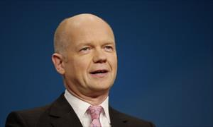 UK Foreign Secretary Hague: We will continue our support to Bosnia and Herzegovina