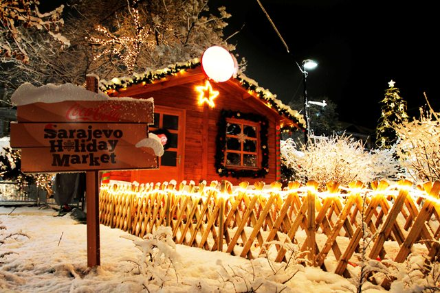 Christmas In Sarajevo.The Fourth Coca Cola Sarajevo Holiday Market Supported By