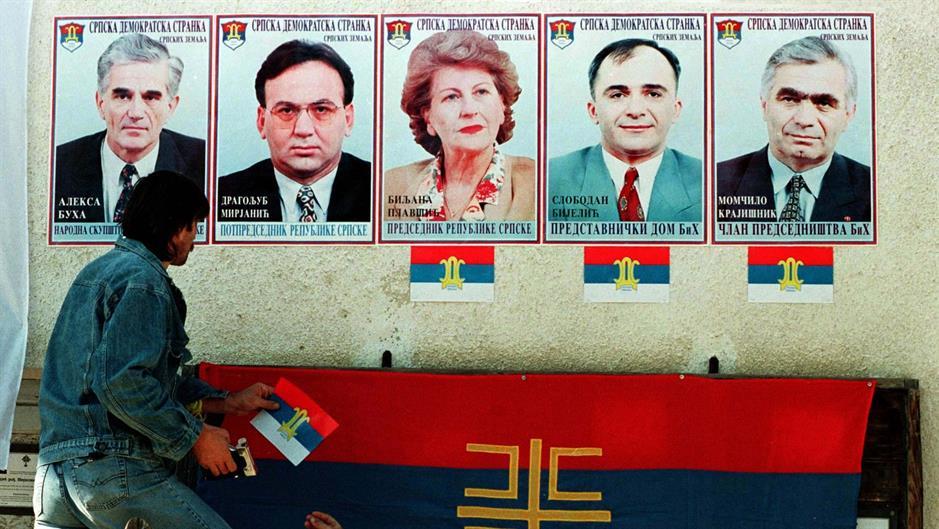 Rezultat slika za bosnian elections 1996 sds