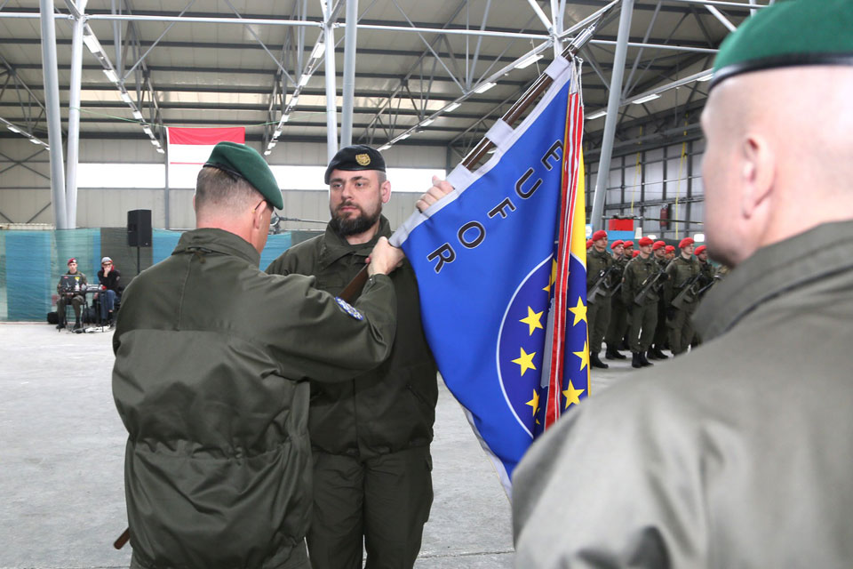 Lieutenant Colonel Sanz takes command of EUFOR's Multinational