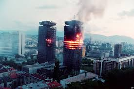 The Record of 3,777 Grenades fired at Sarajevo on this Day in 1993!