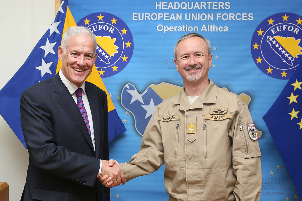 EUFOR Commander meets with Principal Deputy High